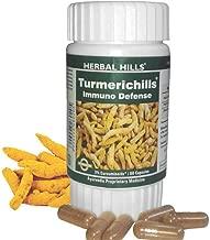 2 x Organic Turmeric Capsule Supplement 60 Count Curcuma Longa (7:1) 3% Curcumin