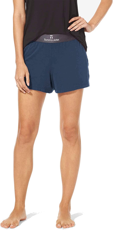 Tommy John Women's Sleep Shorts, Second Skin Fabric, Comfortable Soft Pajama & Lounge Bottoms for Women