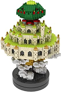 NeoLeo Dream City in The Sky with Music Box Micro Building Blocks Sets Gift for Kids and Adult (3200+PCS)