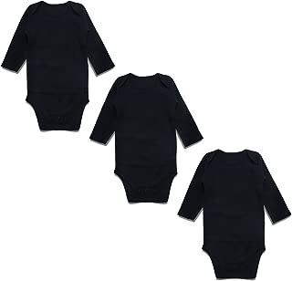 OPAWO Baby Bodysuits Long Sleeve for Unisex Boys Girls 3 Pack