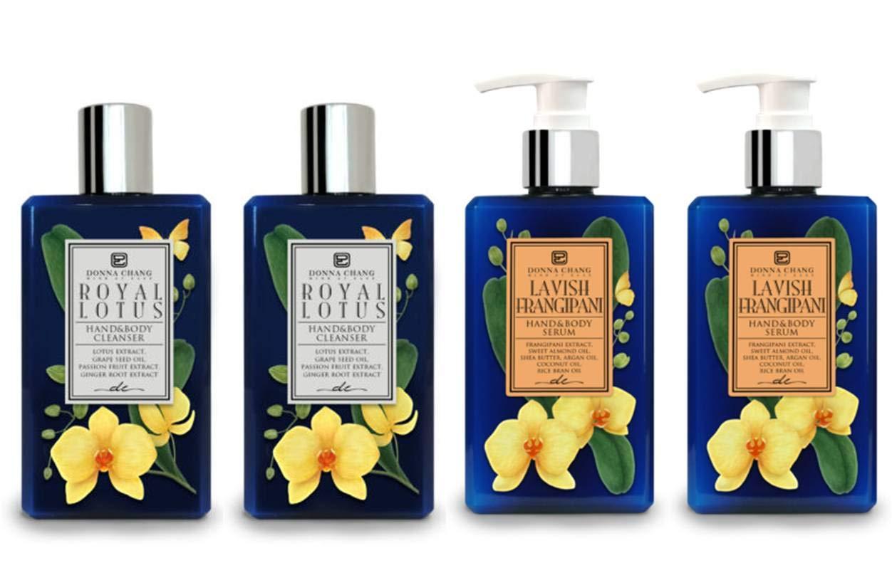 Donna Chang Royal Popular brand Lotus Under blast sales Shower Gel Body Lavish Frangipani and Se
