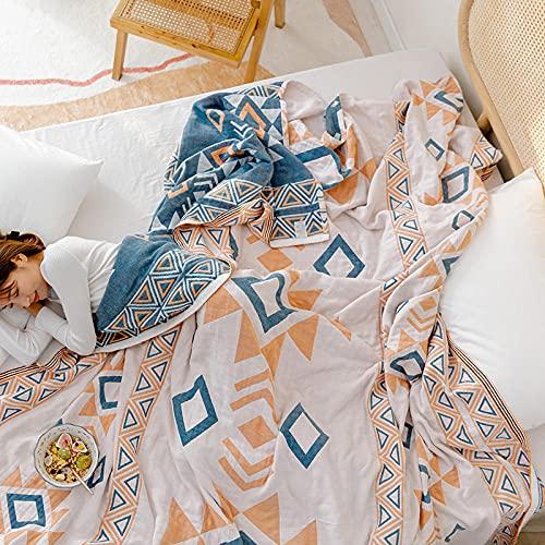 Manta de Microfibra Color sólido, Extra Suave Mantas para Sofás, Multifuncional para sofá, Cama, Viajes, Adultos, niños -Tucas-LAN_200 * 230cm