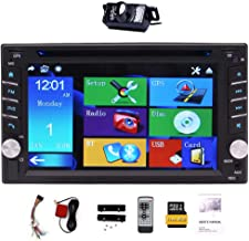 """Upgarde Version with Camera ! 6.2"""" Double 2 DIN Car DVD CD Video Player Bluetooth.."""