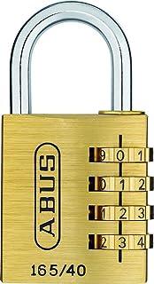 Abus 165/40SB / 20128 Cadenas à combinaison en laiton Taille 40 mm (Import Allemagne)