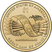 sacagawea great law of peace coin