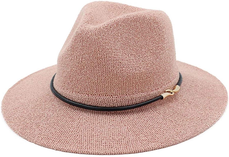 Atmungsaktiver Cooler Strohhut Leichter und bequemer Damenhut Hut