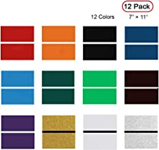 XLNT Engraving Double Color Sheet (7