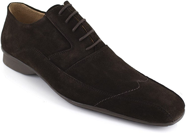 J.Bradford Derby Brown Leather JB-Mark