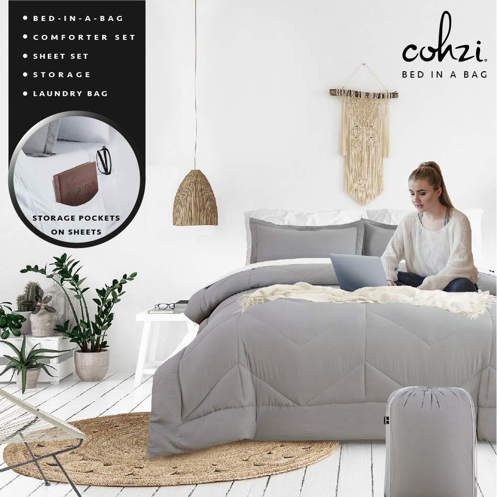 Cohzi Queen Bed Comforter Sheets