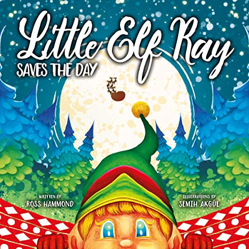 Little Elf Ray - Saves The Day audiobook cover art
