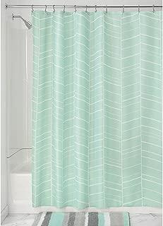 Best mint color shower curtain Reviews