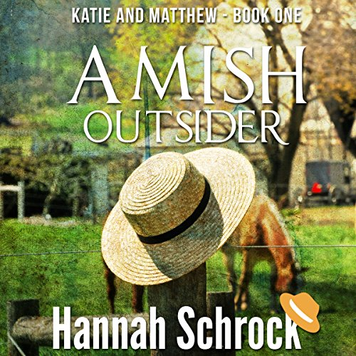 Amish Outsider audiobook cover art