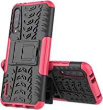 Wuzixi Case for Nokia 5.1 Plus. Tire Texture Protective [Anti-Scratch] [Shock Absorption] [Durable], Cover for Nokia 5.1 Plus.Pink