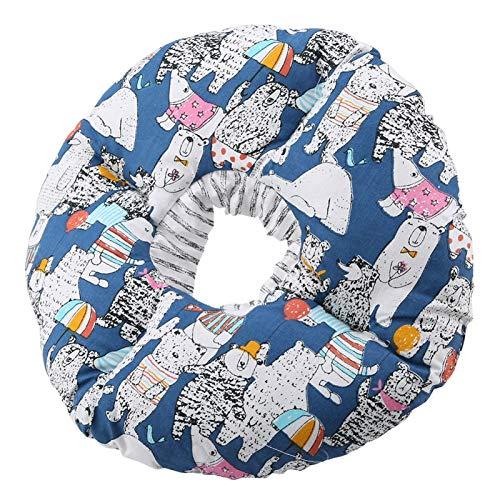 Collar Anti-mordida Para Mascotas, Collar De Protección Para Mascotas Lavable Collar De Curación Para Mascotas Con Círculo De Borde Suave Ajustable Para Perros Y Gatos(azul)