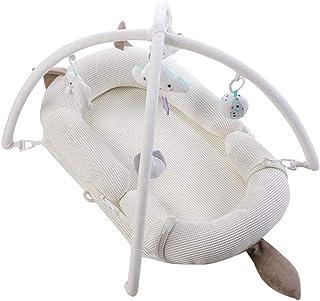 Portable Baby Nest for Newborn, 100% Cotton Newborn Portable Bassinet Crib, Breathable and Hypoallergenic Sleep Nest Newbo...