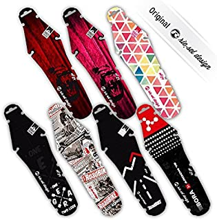 Riesel Cable Tie Fija Tus Guardabarros de Forma Segura a tu Bicicleta Unisex Adulto Paquete de 25