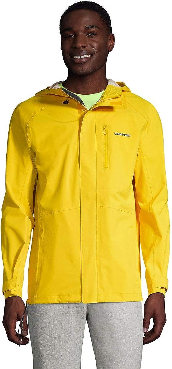 Lands' End Men's Waterproof Rain Jacket