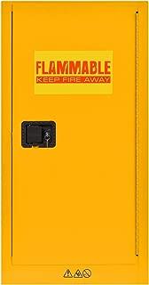 Sandusky Lee SC16F Flammable Liquid Storage Cabinet in Yellow, 44