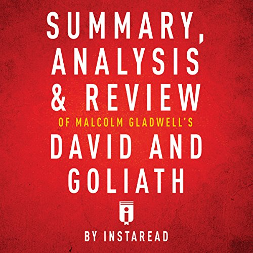 Summary, Analysis & Review of Malcolm Gladwell's David and Goliath by Instaread audiobook cover art