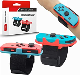 Wristbands for Nintendo Switch Just Dance 2020 2021 and Zumba Burn It Up, 2Pack Comfortable Easy Using Adjustable Elastic ...