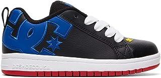 DC Kids' Court Graffik Skate Shoe
