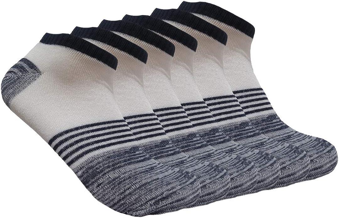 6 Pack Svance Unisex Athletic Sport Running Socks Bombas Socks for Women and Men /…