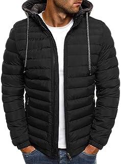 VJGOAL Abrigo de plumón para Hombre Invierno Casual Moda S