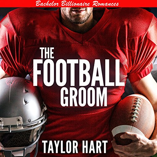 The Football Groom audiobook cover art