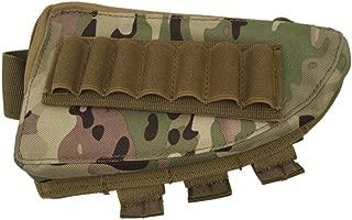TEKCAM Rifle Shotgun Buttsock Shell Holder Cheek Rest Rifle Stock with Magazine Pouch for Hunting