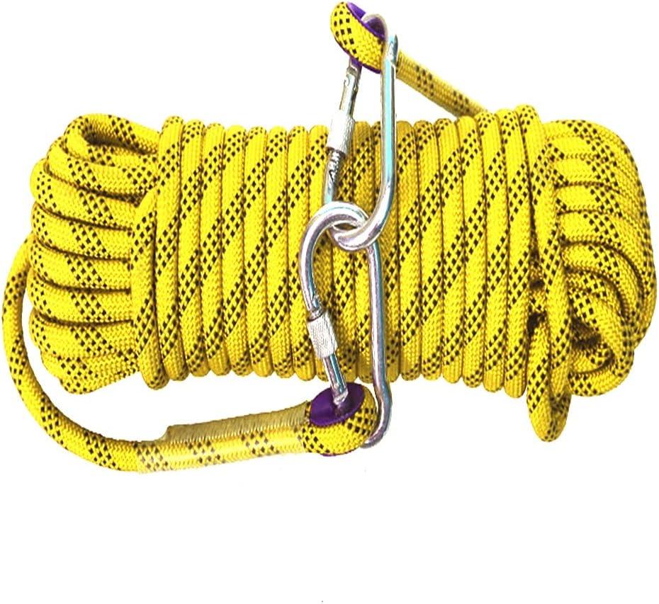 QHY Rock Climbing Rope 16mm Very popular Strength High Safety Nylon 2021 new Cord