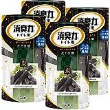 【まとめ買い】トイレの消臭力 トイレ用 炭と白檀の香り 400ml×4個 トイレ 置き型 消臭剤 消臭 芳香剤