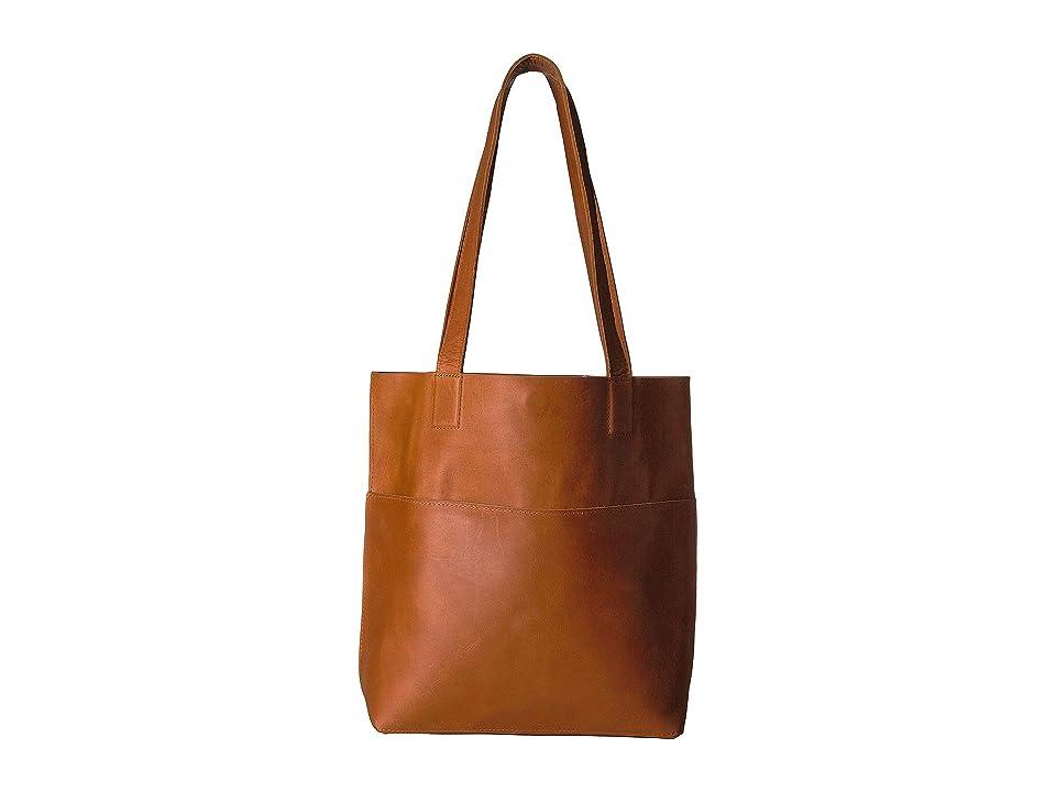 ABLE Solome Tote (Cognac) Tote Handbags