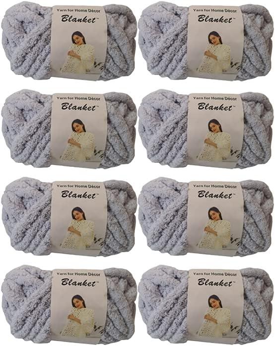 Chenille Yarn Arm Knitting Soft Handmade Chunky Blanket DIY trend rank Super intense SALE for