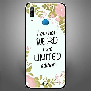 Huawei Nova 3e I am not weird but a Limited Edition, Zoot Designer Phone Covers