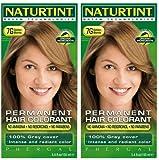 (2er BUNDLE) | Naturtint 7G Golden Blonde Hair Color (haarfarben) | 150ml - Naturtint