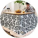 LAZNG Kotatsu mesa conjunto de mesa de café calefacción de calefacción de calefacción japonesa mesa de estufa de kotatsu mesa de calefacción de invierno mesa de calentamiento de mesa por japonés tatam