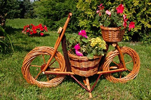 Fahrrad, Motorrad aus Korbgeflecht, 70 cm, Rattan, Weidenkörbe, bepflanzen möglich, Fahrrad, Bike, Gartendeko, Pflanzkasten, Blumenkasten, Pflanzhilfe, Pflanzcontainer, Pflanztröge, Pflanzschale, Rattan, Weidenkorb, Pflanzkorb, Blumentöpfe, keine Holzschubkarre, Pflanztrog, Pflanzgefäß, Pflanzschale, Blumentopf, Pflanzkasten, Übertopf, Übertöpfe, Pflanzgefäß, Pflanztöpfe Pflanzkübel, Pflanzkarre