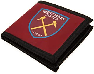 West Ham United FC Touch Fastening Canvas Wallet