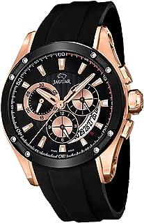 JAGUAR - Reloj Modelo J691/1 de la colección Special Edition, Caja de 45 mm Correa de Caucho Negro para Caballero