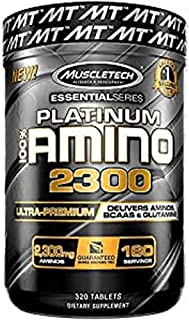 MuscleTech 100% Amino 2300 Essential Series, 320 Count