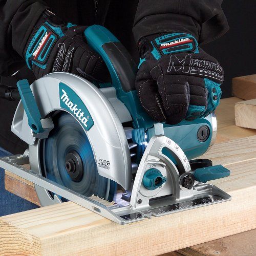 "Makita 5007MGA 7-1/4"" Magnesium Circular Saw, with Electric Brake"