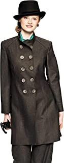 Womens Overcoats Style no.11176 Squirrel Fur Brown Pure Italian Mink Cashmere Camel Hair