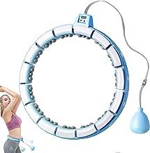 هولا هوپ با وزن مناسب برای بزرگسالان کاهش وزن بدون تمرین سقوط هولاوپ قابل جدا شدن با اندازه قابل تنظیم حجم شکم تناسب اندام ماساژ بدنسازی حرفه ای ضد نرم نرم برای زنان و مردان