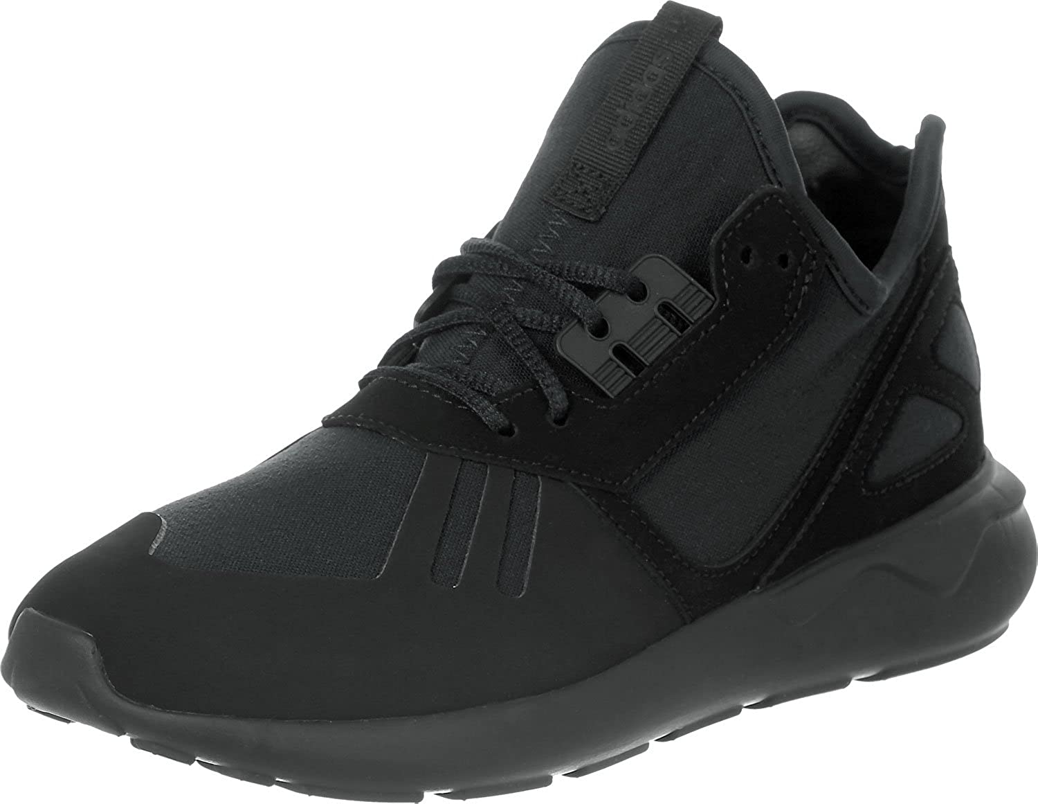 Adidas Originals Tubular Runner Youth Black Synthetic Trainers