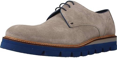 SERGIO SERRANO Kleid Schuhe Herren, Farbe Blau, Marke, Modell Kleid Schuhe Herren 5500 Blau