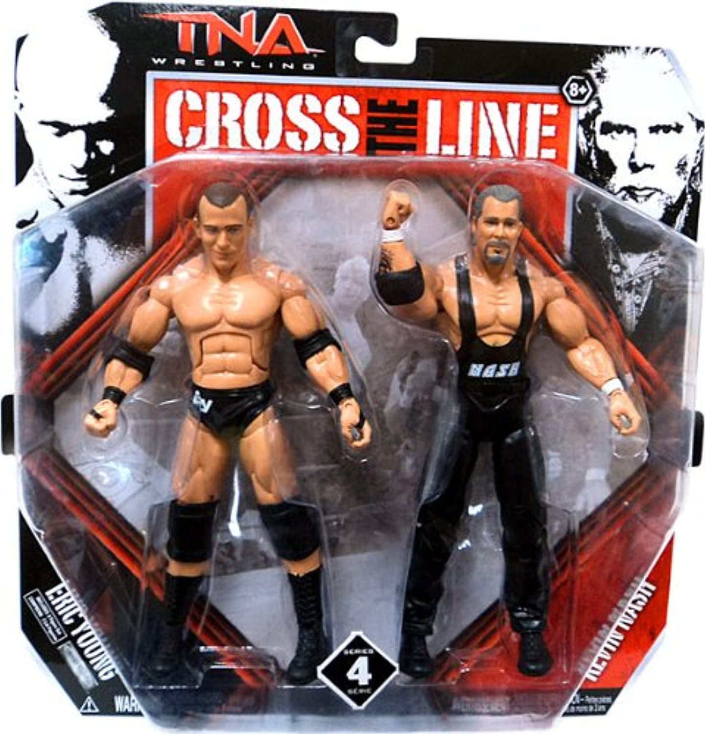 TNA Two Figures Pack Eric Young vs Kevin Nash