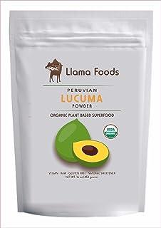 Llama Foods Organic Lucuma Powder - 16 oz - 1lb