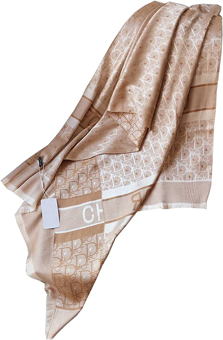 100% silk scarf is suitable for women and men's luxury fashion design, suitable for gifts and various occasions (T1)