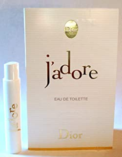 Christian Dior J'adore Eau de Toilette Spray for Women, Vial, Mini,0.03 Ounce