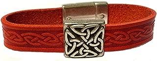 irish leather bracelets